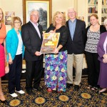 Picture with Cara are Teresa O'Donovan, Director of the Edmund Rice Hertiage Centre, Geraldine Carroll, Edmund Rice Heritage Centre, Sean Dower, Committee, Tony Power, Fundraising Committee, Stephanie Brett, Edmund Rice Centre. and Sr. Jospehine Deegan, Edmund Rice Centre